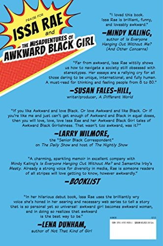 libro the misadventures of awkward black girl - nuevo