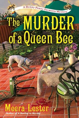 libro the murder of a queen bee - nuevo