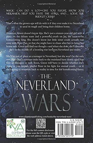 libro the neverland wars - nuevo