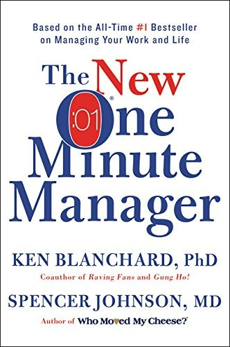 libro the new one minute manager - nuevo
