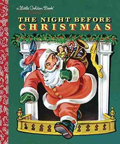 libro the night before christmas - nuevo