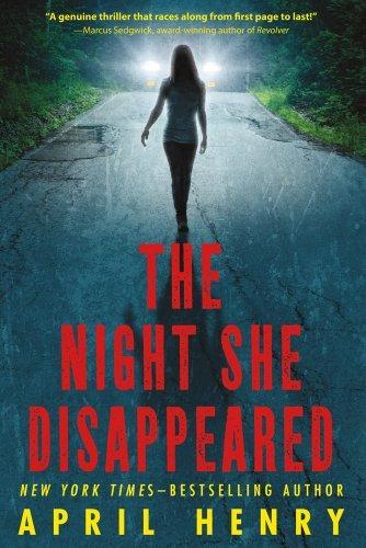 libro the night she disappeared - nuevo
