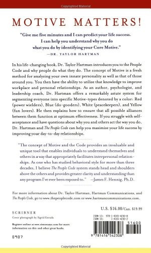 libro the people code: it's all about your innate motive