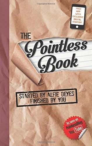 libro the pointless book: started by alfie deyes, finished b