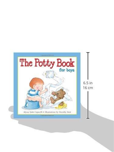libro the potty book for boys - nuevo