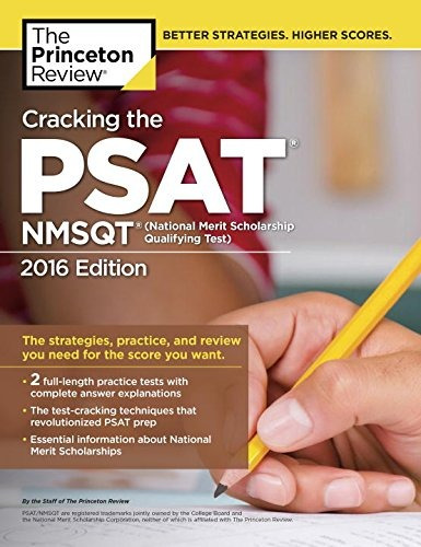 libro the princeton review cracking the psat / nmsqt 2016: