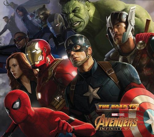 libro: the road to marvel's avengers: infinity war - the art