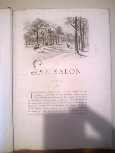 libro the salon 1891 -  antonin proust - ediciíon original