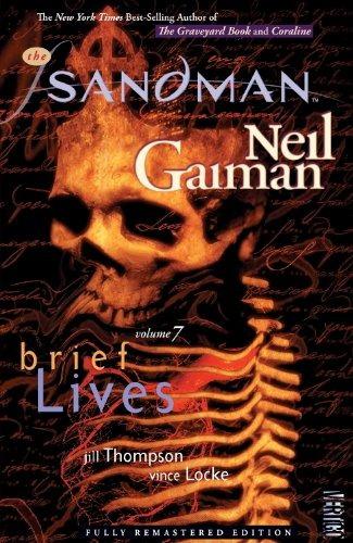 libro the sandman 7: brief lives - nuevo