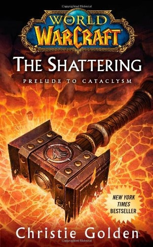 libro the shattering: prelude to cataclysm - nuevo