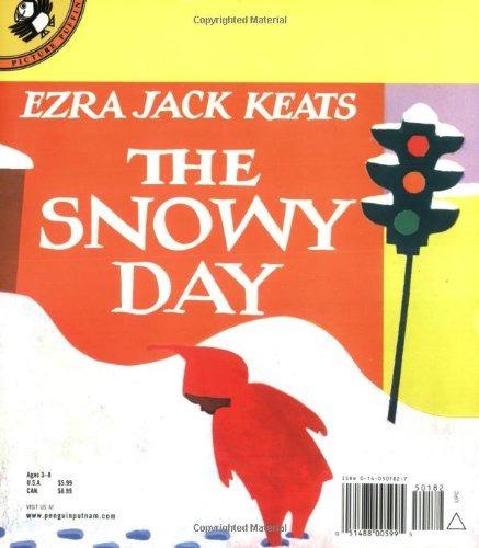 libro the snowy day - nuevo