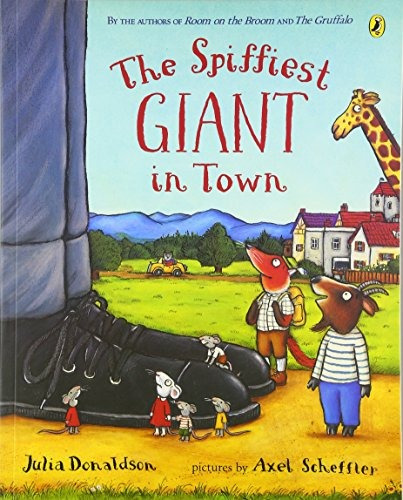 libro the spiffiest giant in town - nuevo