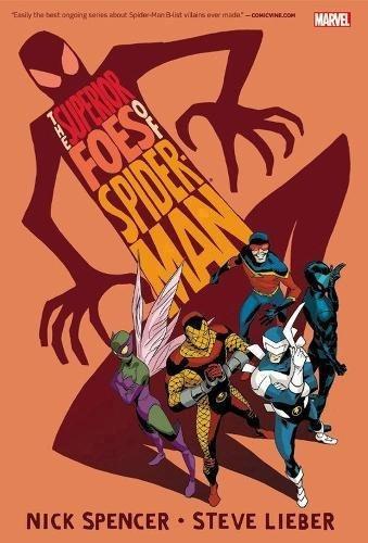 libro the superior foes of spider-man omnibus - nuevo