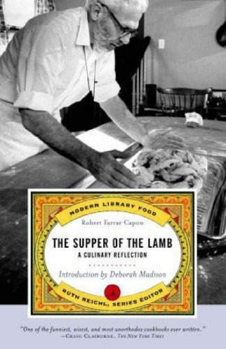 libro the supper of the lamb: a culinary reflection