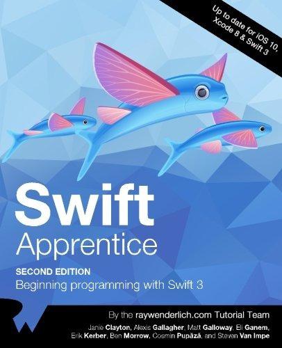 libro the swift apprentice second edition: beginning program