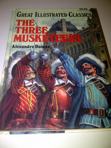libro the three musketeers