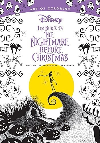 Libro The Tim Burton Nightmare, 100 Images, Coloring Book - $ 469.00 ...