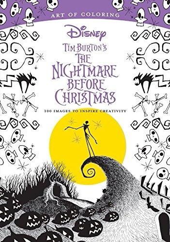 Libro The Tim Burton Nightmare, 100 Images, Coloring Book - $ 469.00 ...