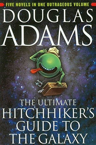 libro the ultimate hitchhiker's guide to the galaxy - nuevo