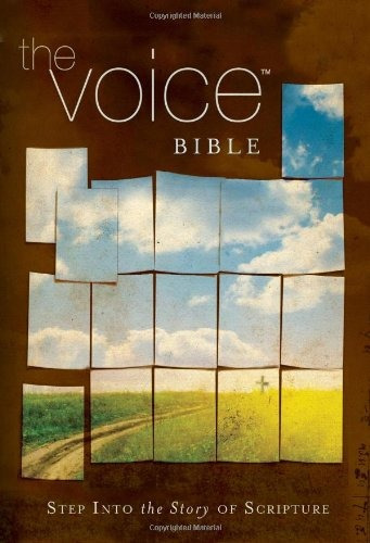 libro the voice bible: step into the story of scripture
