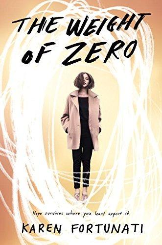 libro the weight of zero - nuevo
