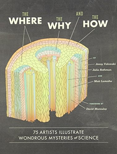 libro the where, the why, and the how: 75 artists illustrate