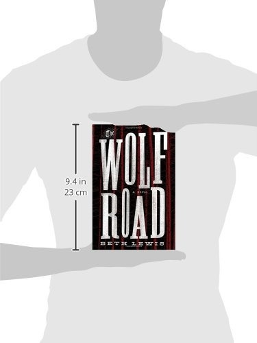 libro the wolf road - nuevo