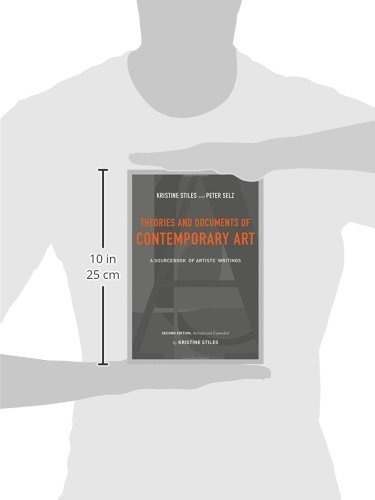 libro theories and documents of contemporary art: a sourcebo