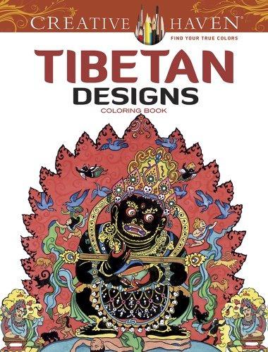 Libro Tibetan Designs Adult Coloring Book - Nuevo - $ 470.00 en ...