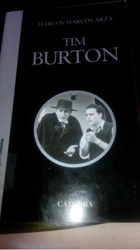 libro tim burton (editorial cátedra)