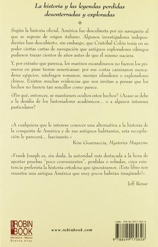 libro, todo empezó en américa misterios y leyendas f. joseph