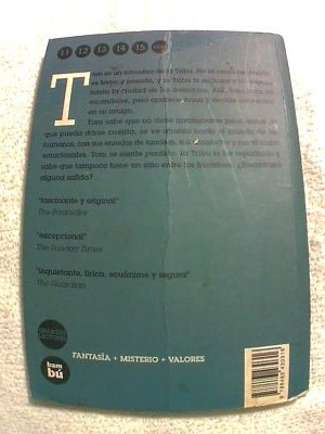 libro tom piel de escarcha (fantasia, misterio, tribu, niños
