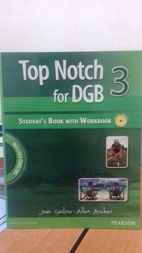 libro top notch for dgb 3 pearson