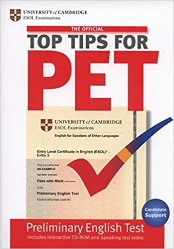 Libro Top Tips For Pet Preliminary English Test Cd-rom B1 - $ 699 30