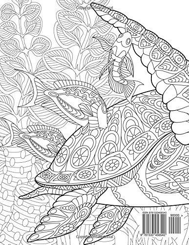 Libro Tortugas Libro Para Colorear Para Adultos 1 Volu