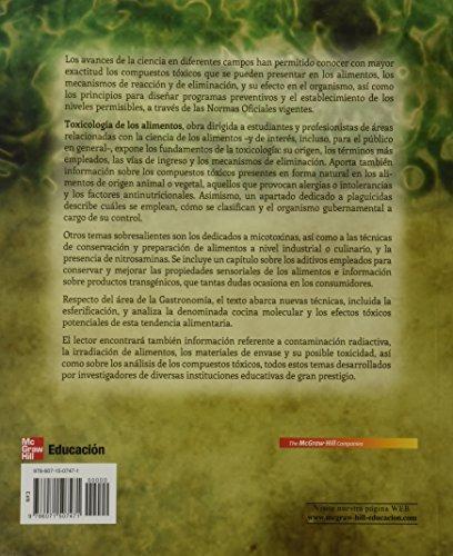 libro toxicologia de los alimentos - nuevo
