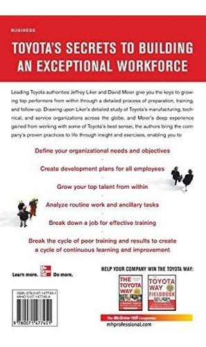 libro toyota talent: developing your people the toyota way