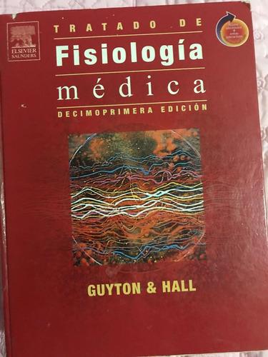 libro tratado de fisiologia medica, guyton-hall