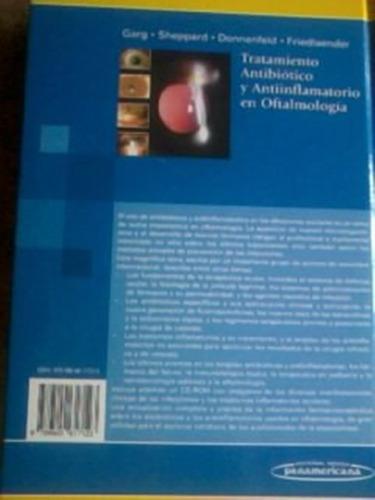 libro tratamiento antibiotico  antiinflamatorio oftalmologia