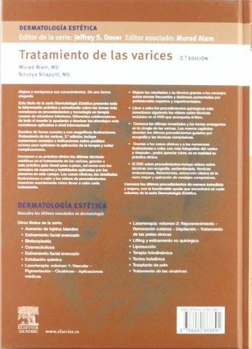 libro tratamiento de las varices dermatologia estetica c/dvd