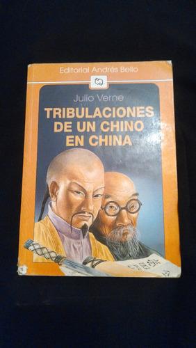 libro tribulaciones de un chino en china, julio verne