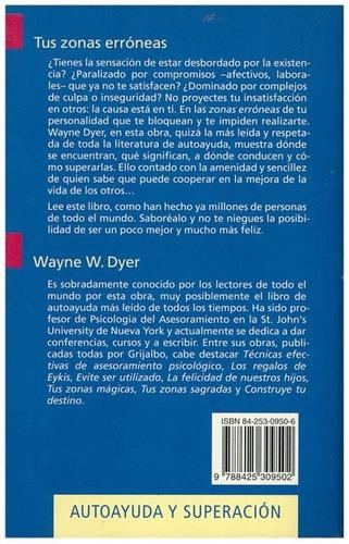 libro, tus zonas erróneas de dr. wayne w. dyer.