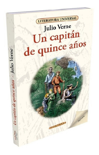 libro. un capitan de quince años. julio verne. fontana