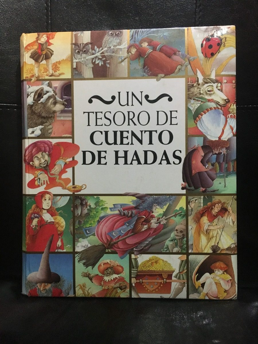 Libro Un Tesoro De Cuento De Hadas - Bs. 223,76 en Mercado