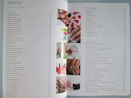 libro: uñas decoradas (tecnicas paso a paso) 1 vol. novedad