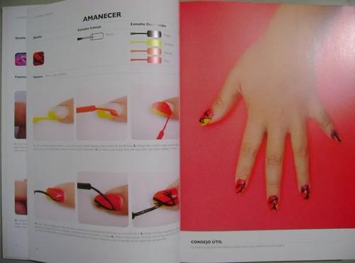 libro uñas diseño y pintado - incluye dvd / lexus
