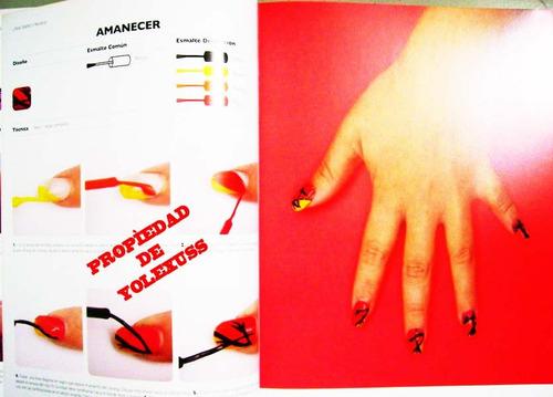 libro uñas diseño y pintado -original