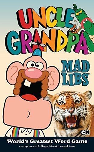 libro uncle grandpa mad libs-isbn 9780843182859 isbn 9780843