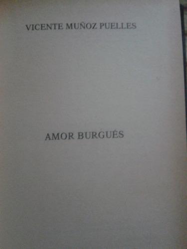 libro usado   amor burgues
