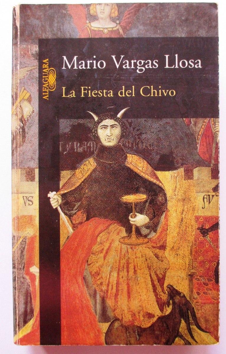 libro usado la fiesta del chivo de mario vargas llosa
